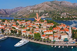 Accommodation in Cavtat, Croatia